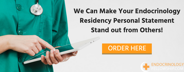 writing endocrinology residency personal statement